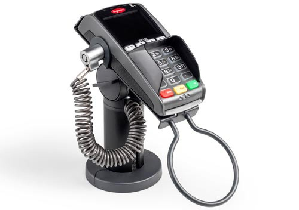 RetailSystem locking device for pin terminal