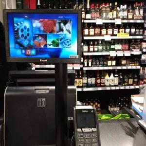 RetailSystem at Spar store