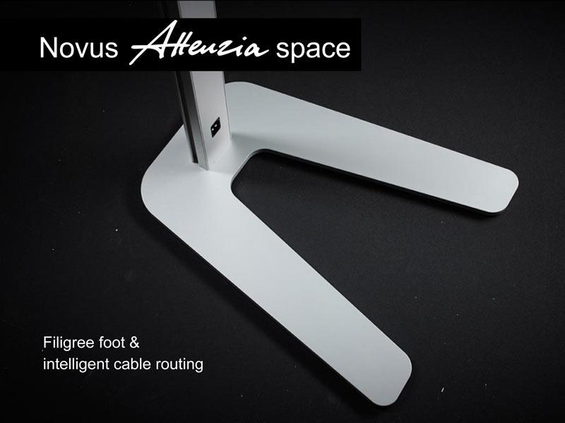 attenzia space foot detail