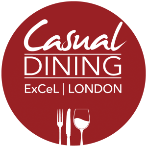 casual dining exhibition logo