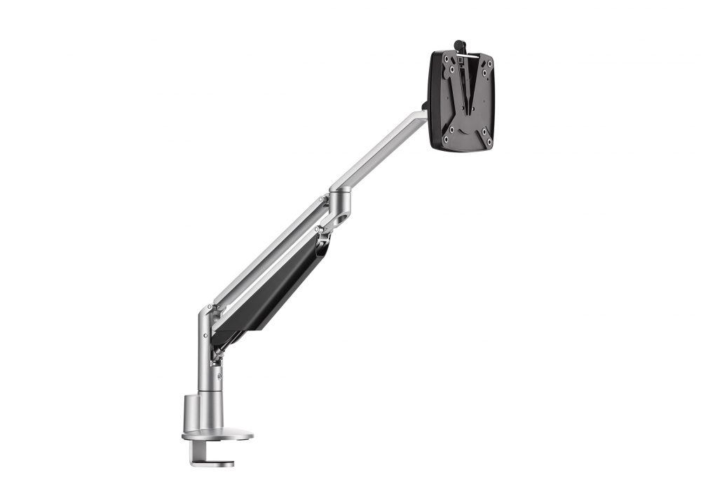Clu II monitor arm silver